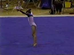 Alexis Brion - 1995 US Olympic Festival AA - Floor Exercise - YouTube
