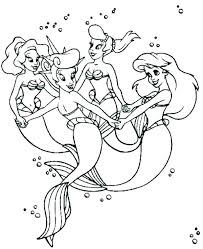 The Little Mermaid 2 Coloring Pages Little Mermaid Coloring Pages