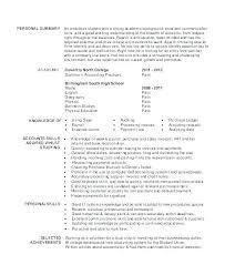 Accounts Clerk Resume Clerk Resume Sample Sample Of Resume With Job Description Clerical