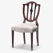 3D model Theodore Alexander Palmerstons Dinner Chair VR AR low