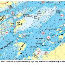 Green River Lake Fishing Map