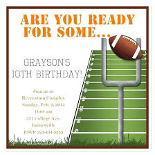 Football Party Invitations Templates Free Football Ticket Invitation Template Free Free Football Ticket Party