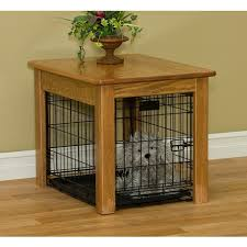 furniture pet crate. Amish Made Wire Dog Crate Cover End Table Furniture Pet G