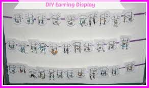 how to make your own earring display cards for diy earring cards you
