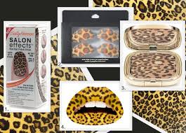 leopard print makeup beauty eye makeup transfers
