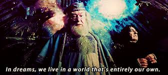 For In Dreams Dumbledore Quote Best Of For In Dreams We Enter A World That Is Entirely Our Own Best