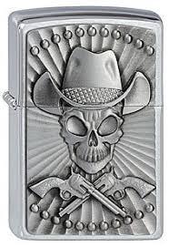 Zippo 200 <b>Cowboy</b> Skull Emblem купить