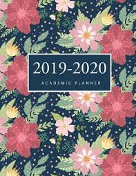 2020 Weekly Appointment Book 2019 2020 Academic Planner Flower Watercolor Cover 2019
