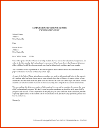 Leave Of Absence Letter Template For School Fresh Exam Good Leave Of