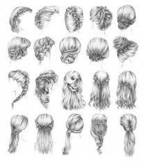 Dessin Cheveux Chignon De Face Quaribou