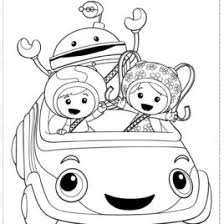 Small Picture Coloring Pages Of Umizoomi Kids Drawing And Coloring Pages