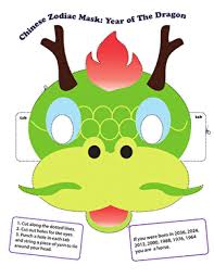 Engage your students with these chinese new year printable worksheets. Printable Chinese Zodiac Masks Education Com