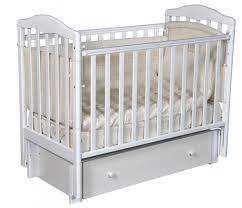 Детская <b>кроватка Антел Алита</b> 4/6 универсальный маятник ...