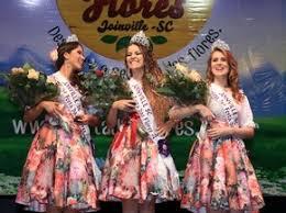 Priscila Zimmermann é eleita rainha da 76ª Festa das Flores em Joinville |  Santa Catarina | G1