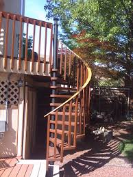 exterior wood spiral stairs diy staircases building spiral stairs for deck photos freezer and stair iyashix