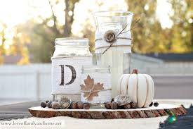 Fall Table Decorations With Mason Jars Rustic Fall Centerpiece Tutorial Love Of Family Home 62