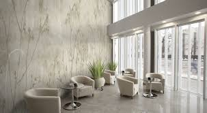 various commercial wallcovering options