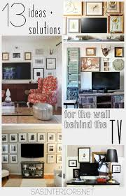 ideas solutions for the wall behind the tv by jenna burger sasinteriors