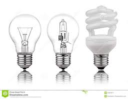 What Are The Kinds Of Light Three Kinds Of Light Bulbs Stock Image Image Of Bulb 23024671