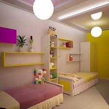 kids room decorating ideas for 2 bedroom furniture with simple wooden dollhouse shelf also funny s