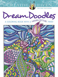 Small Picture Creative Haven Dream Doodles A Coloring Book with a Hidden