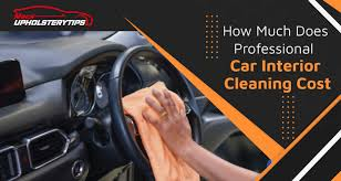 professional car interior cleaning cost