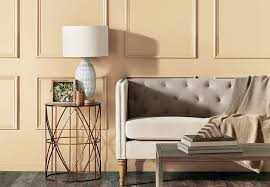 salón en tonos de beige