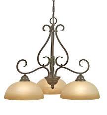 3 light chandelier this peppercorn finish 3 light chandelier features linen swirl glass shades and 3 3 light chandelier