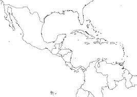 Latin America Outline Maps Maps Of Central Map And South X America Caribbean Quiz Jonespools Info