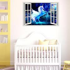 unicorn wall decal unicorn decoration unicorn wall sticker for kids rooms living room bedroom wall decal