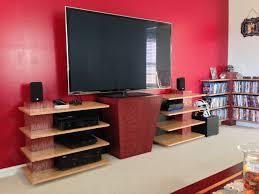Unique Tv Stands Awesome Unique Entertainment Stand Build Unique Tv Stand