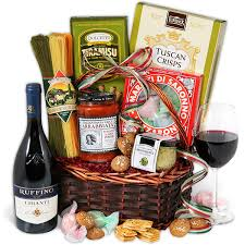 gift baskets for couples. Perfect Gift Chianti Wine  Italian Gift Basket Throughout Baskets For Couples I