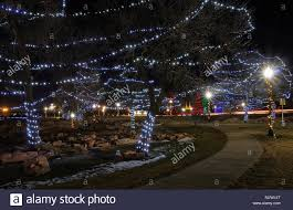 Sioux Falls Sd Falls Park Christmas Lights Falls Park Is A Major Tourist Attraction In Sioux Falls
