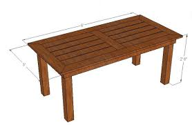 wood patio table plans 01 overview fine plans large