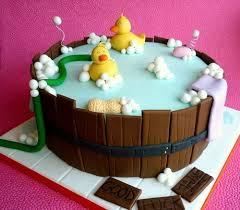 baby shower cake design 3 bathtub with rubber ducks baby shower cakes duck tub