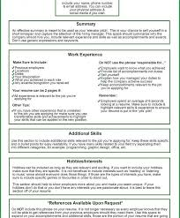 things put your resume examples good skills what are some delux