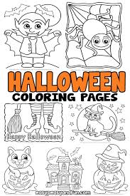 9 new printable halloween mazes for kids to help with problem solving, patience, persistence. Halloween Coloring Pages Easy Peasy And Fun