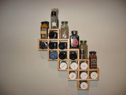 Spice Racks For Kitchen Wooden Wall Mount Spice Rack Organizer New Interior Home