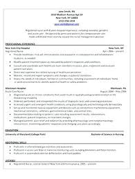 Recovery Room Nurse Resume Operating Room Nurse Resume Sample