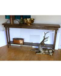 narrow console table. 84 Rustic Console Table Extra Narrow Sofa Entryway Hallway Foyer With Shelf Inch .