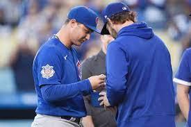 Chicago Cubs left fielder Joc Pederson ...
