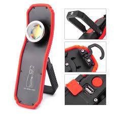 60W Portable Flashlight <b>Torch USB</b> Rechargeable <b>LED</b> Work <b>Light</b> ...