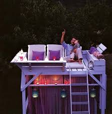 Backyard Lounge From Bunk Bed