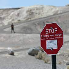 Death Valley in 115 F Heat ...