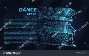 10 Points Of Light Dance Blue Points Light Stock Vector Royalty Free 1235707153