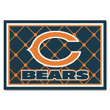 fanmats chicago bears 5 ft x 8 ft area rug