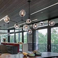 modern designer lighting. FTTE Modern Minimalist Designer Chandeliers After American Creative Character Villa Living Room Dining Glass Chandelier,Original Technology Of 9 Black Lighting