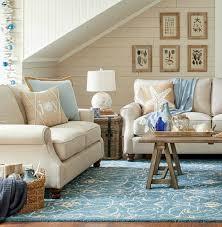 beachy living room. Sand And Blue Christmas Beach Decor Living Room Beachy