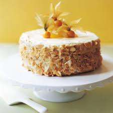 Lemon and Almond Cake with Amaretto Woman And Home