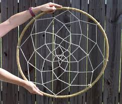 Giant Dream Catchers Enchanting How To Make A Giant Dreamcatcher Tutorial Mom Spark Mom Blogger